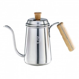 Tiamo - Coffee pot with wooden handle