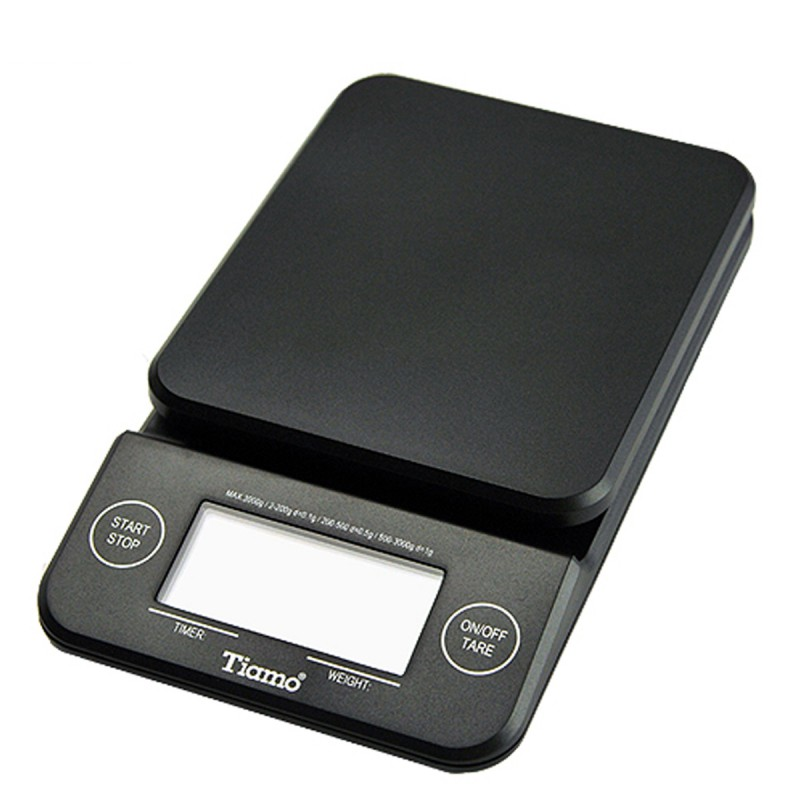 Tiamo - HK0513BK scale with timer black