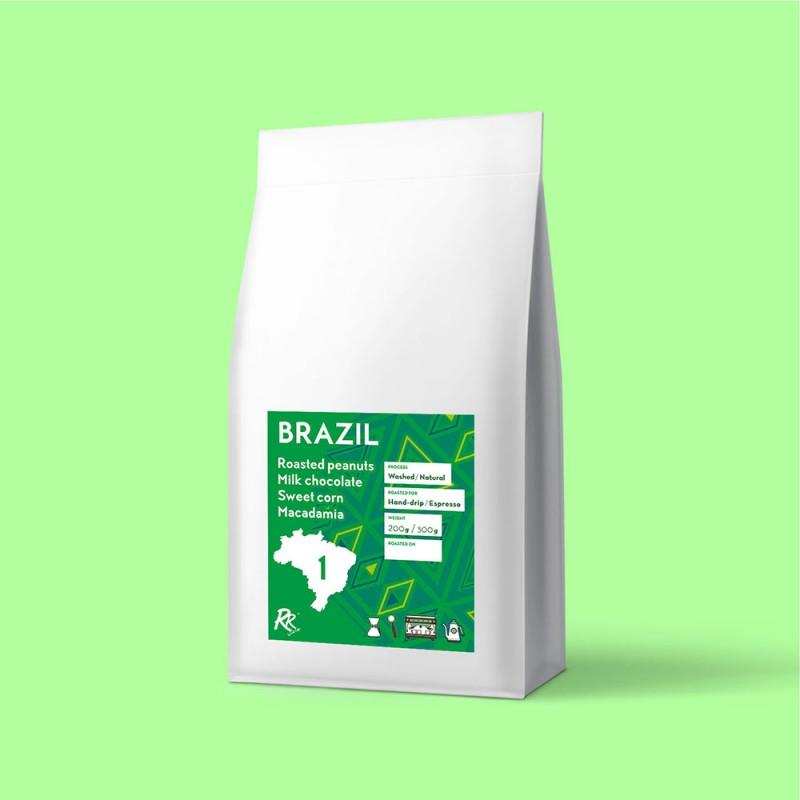 #1 Brazil Santos Coffee 200g