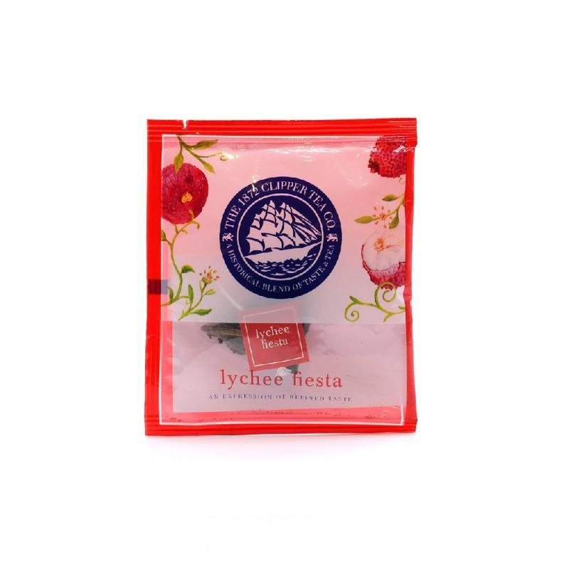 Lychee Fiesta Pyramid Tea Bag 30pcs 荔枝嘉年華三角茶包