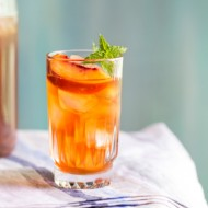 ICED PEACH GREEN TEA