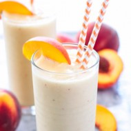 ICED PEACH MILK