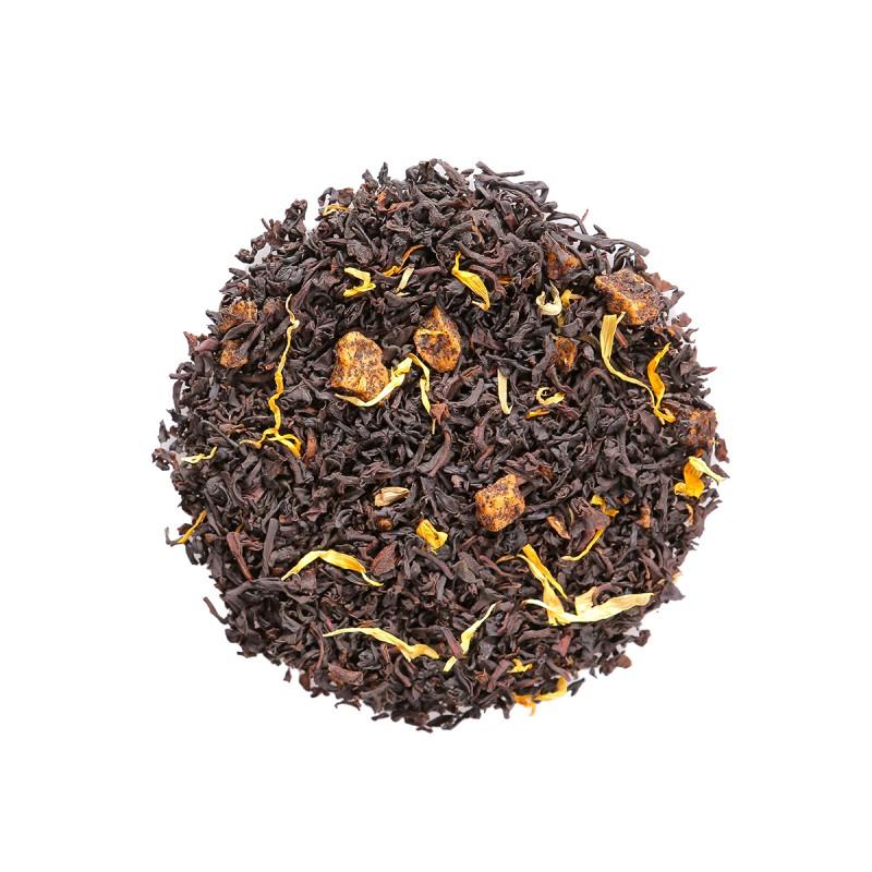 Summer Passion Fruit Tea Leaves 夏日百香果拼配茶葉